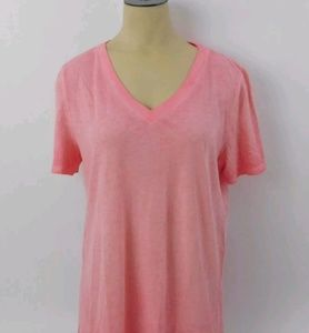 Victorias Secret PINK Basic Solid V Neck t